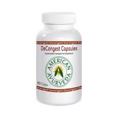 Decongestant Herbal Capsules, American Ayurveda