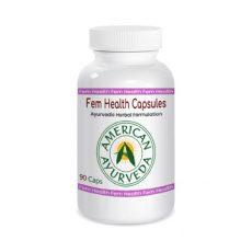 Feminine Health Capsules, American Ayurveda
