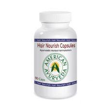 Hair Nourish Capsules by American Ayurveda