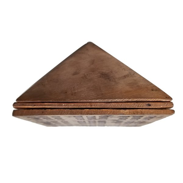 3 Layered Pure Copper Solid Pyramid